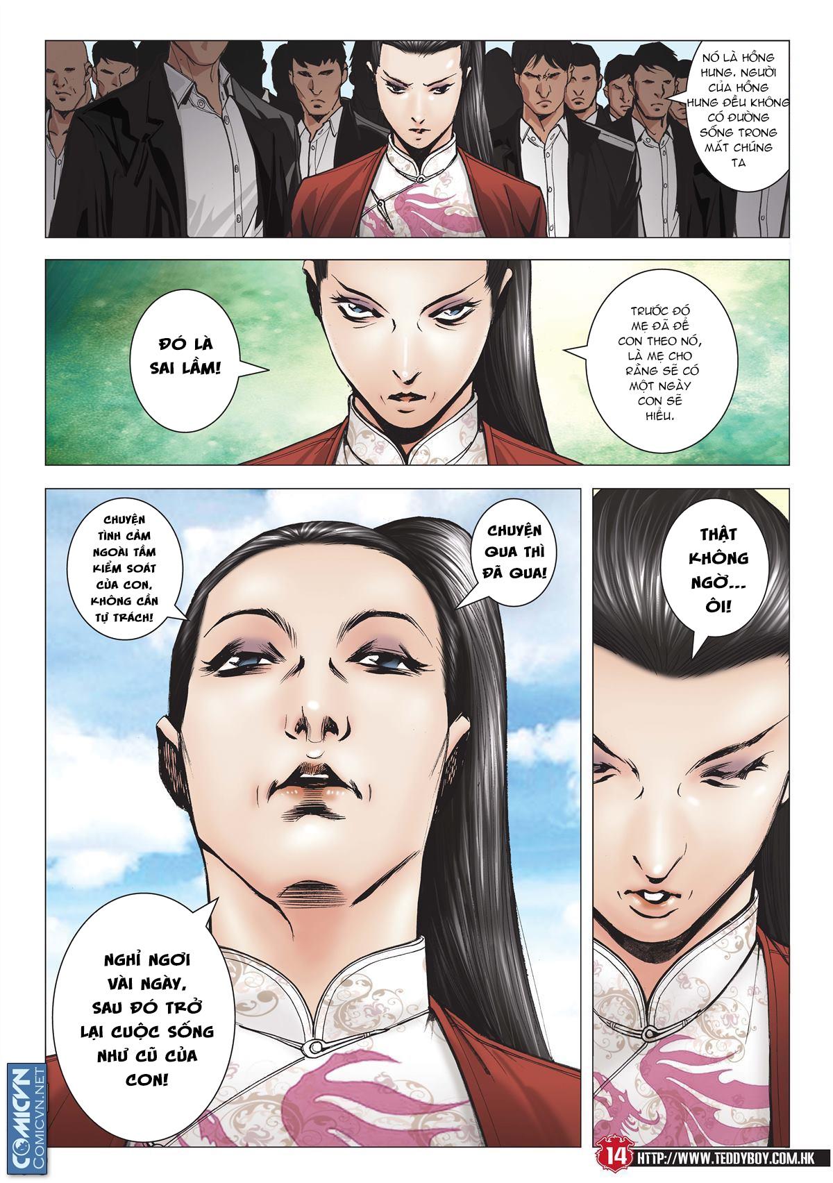 Người Trong Giang Hồ chapter 2001: tự tận trang 13
