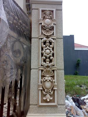 otox sudarto,Ornamen, Pahatan,Tukang taman Surabaya, desain taman Surabaya,Ampyangan, Carport, batu kerikil karpotan,  jasa taman, taman kering, taman minimalis