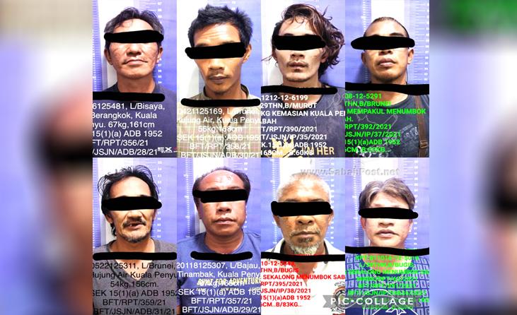 BEAUFORT | Lapan Pengedar, Penagih Ditahan Dalam Tiga Serbuan Di Beaufort & Kuala Penyu