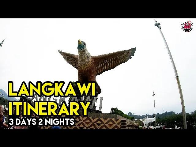 Contoh Itinerary Percutian 3 Hari 2 Malam Di Pulau Langkawi