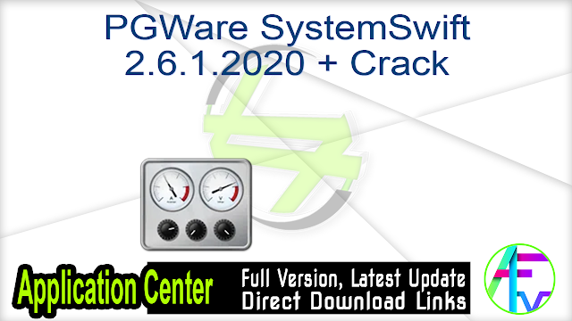 PGWare SystemSwift 2.6.1.2020 + Crack