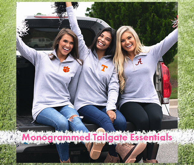 personalized tailgate essentials