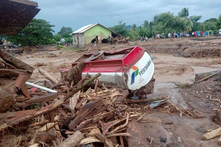 Walhi: Pemerintah Pusat Terkesan Lambat Tangani Banjir Bandang di NTT