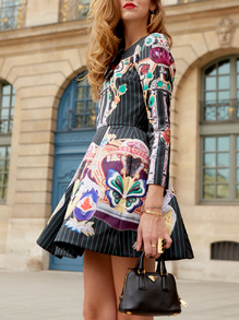 http://www.romwe.com/Multicolor-Long-Sleeve-Pattern-Print-Flare-Dress-p-132433-cat-722.html?utm_source= luciamastrogiulio.blogspot.it &utm_medium=blogger&url_from= luciamastrogiulio