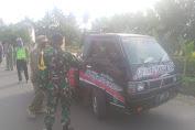 Cegah Corona, Tim Gugus Tugas Covid-19 Patimuan Intensifkan  Pengamanan Jalur Barat Cilacap