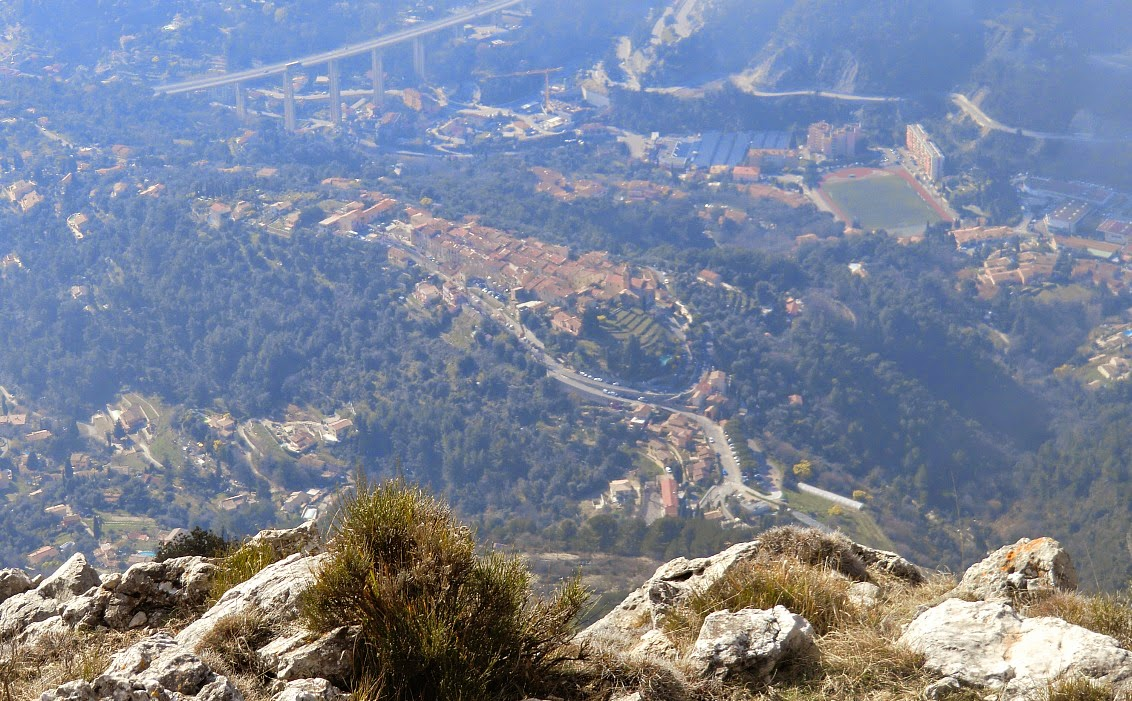 View from Roc d'Orméa down to Castellar