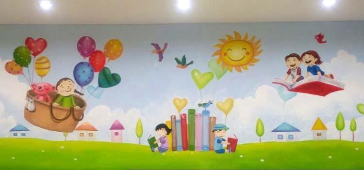 Jasa Pembuatan Lukisan Mural Di Dinding Sekolah Paling Unik