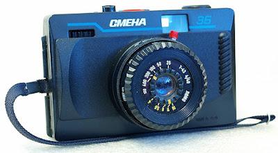 "LOMO Smena 35 (Triplet ""T-43"" 4/40 lens) #009"