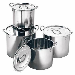 Stock Pot Panci Stramer 12 pc Stainless Steel Berkualitas