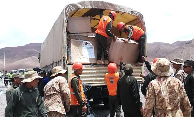 Gobierno despliega acción multisectorial en zonas afectadas por huaicos