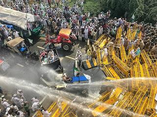 किसानों के हंगामे के बाद गृह मंत्रालय का बड़ा फैसला, दिल्ली और सीमावर्ती इलाकों में 15 CRPF की कंपनियां तैनात होंगी