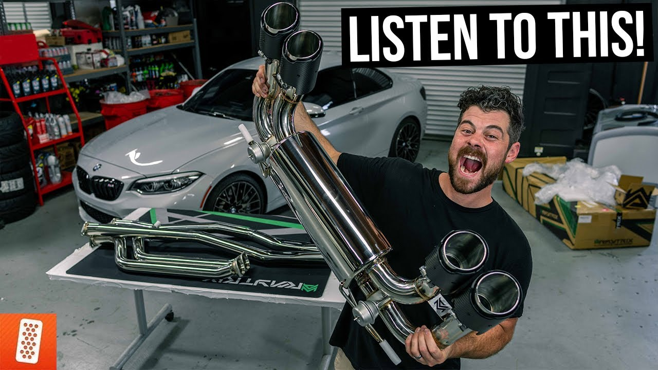 Diagram Throtl Media And Content The 4 500 Exhaust For My Bmw M2