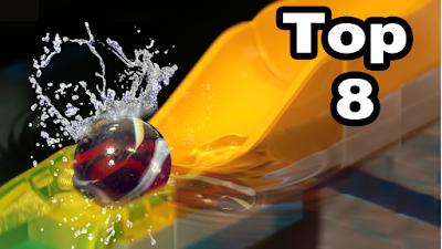 Top 8 Corrida de Bolinhas de Gude - Melhores momentos - Marble run