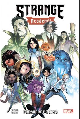 Strange Academy tome 1, par Skottie Young et Humberto Ramos chez Panini Comics
