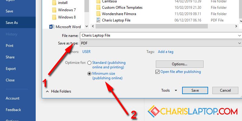 cara mengecilkan ukuran pdf jadi 200kb