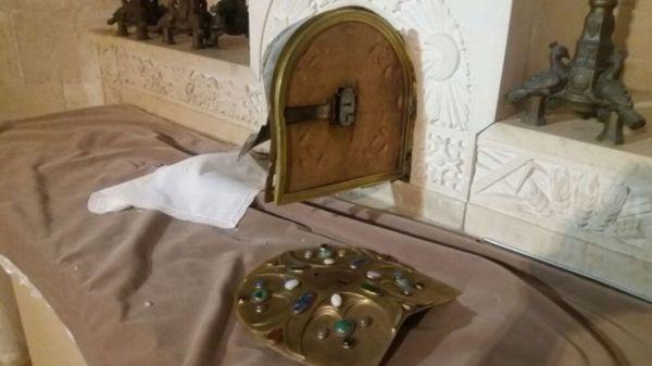 Vandalismo en la Iglesia de la Transfiguración en Galilea
