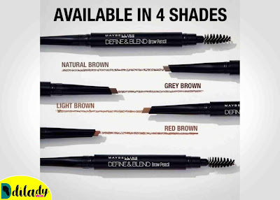 Maybelline Define and Blend Brow Pencil