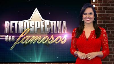 Foto: Carla Cecato apresenta a Retrospectiva dos Famosos/divulgação Record TV