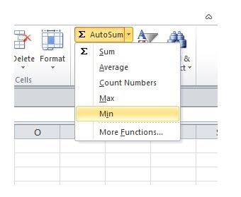 tombol min pada tool bar excel