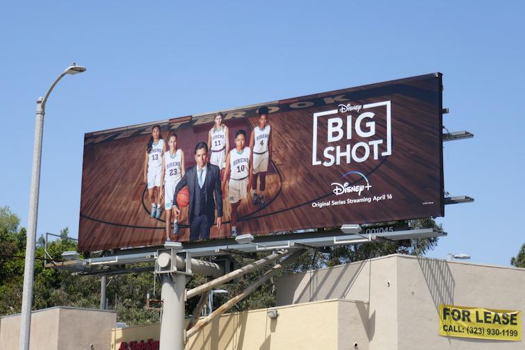 Disney Big Shot series premiere billboard
