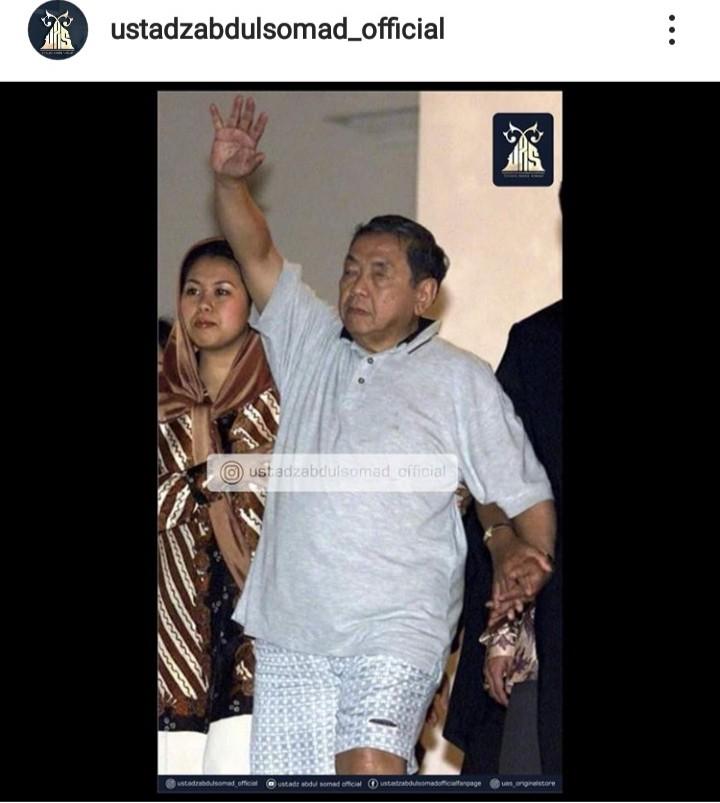 Ditanya Soal Foto Gusdur, Ini Jawaban Bijak Ustadz Abdul Somad