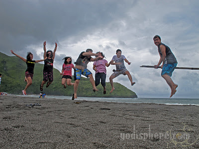 Group Jump shot ala Harry Potter