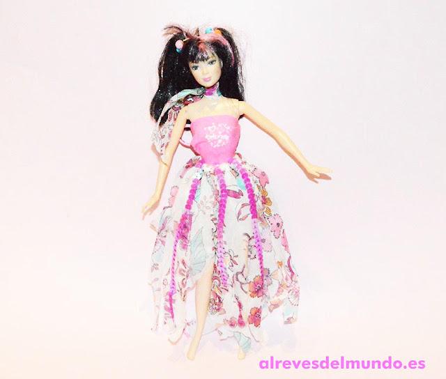 como hacer un vestido muñeca