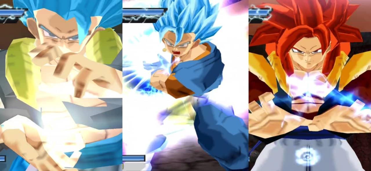 Dragon Ball Super Gogeta and Vegito Blue