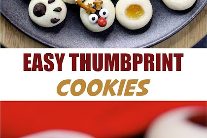 EASY THUMBPRINT COOKIES