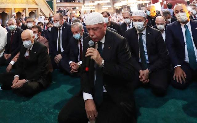 Νέο παραλήρημα του σουλτάνου Ερντογάν