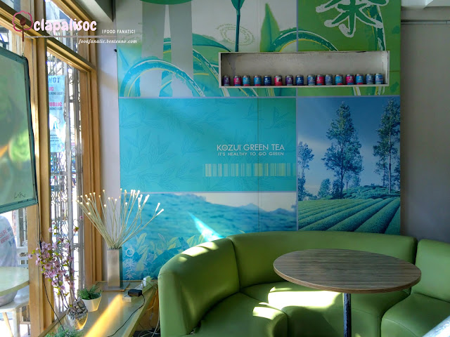 Kozui Green Tea Interiors Tomas Morato