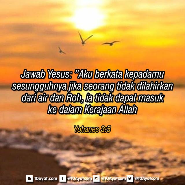 Yohanes 3:5