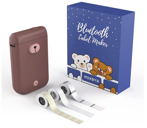 MUNBYN Wireless Mini Thermal Label Printer