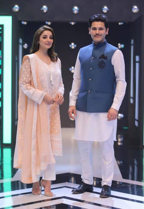 Jeeto Pakistan League  Sarwat Gillani and Fahad Mirza Awesome Pictures