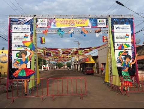 Primeiras imagens do Carnaval de Igarapé Grande