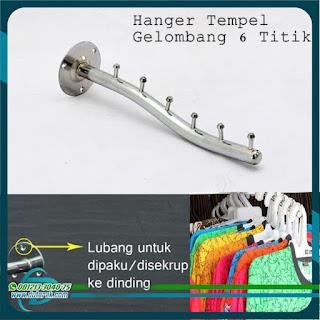 Hanger Seruling Dinding dan Pipa
