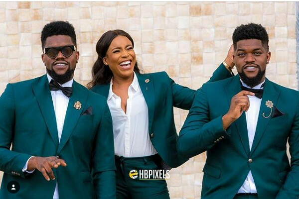 Swag! This Nigerian groomslady sure gave the men a run for their money