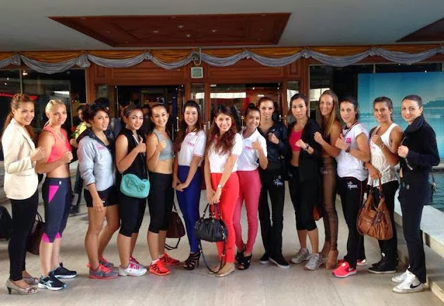 MuayThai Angels women Thai  Boxing Bangkok