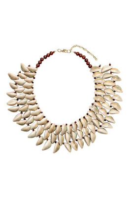 The Best Jewellery Buys from the High Street this SS16 - H&M - Necklace with shells - £14.99