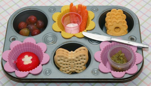Cookie Cutter Lunch Flowers & Butterflies