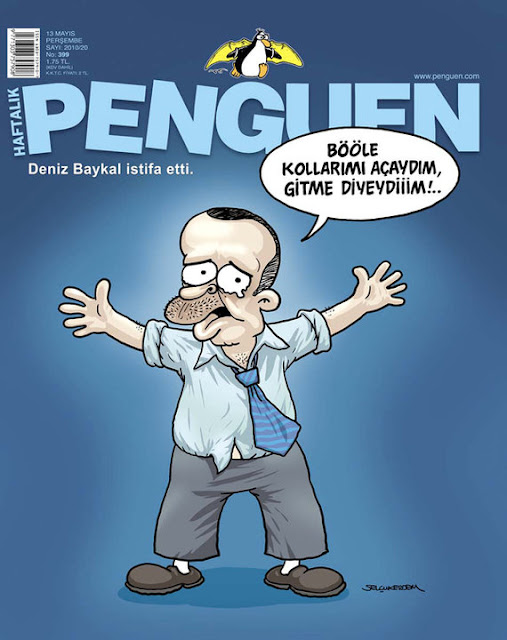 Penguen Dergisi - 13 Mayıs 2010 Kapak Karikatürü