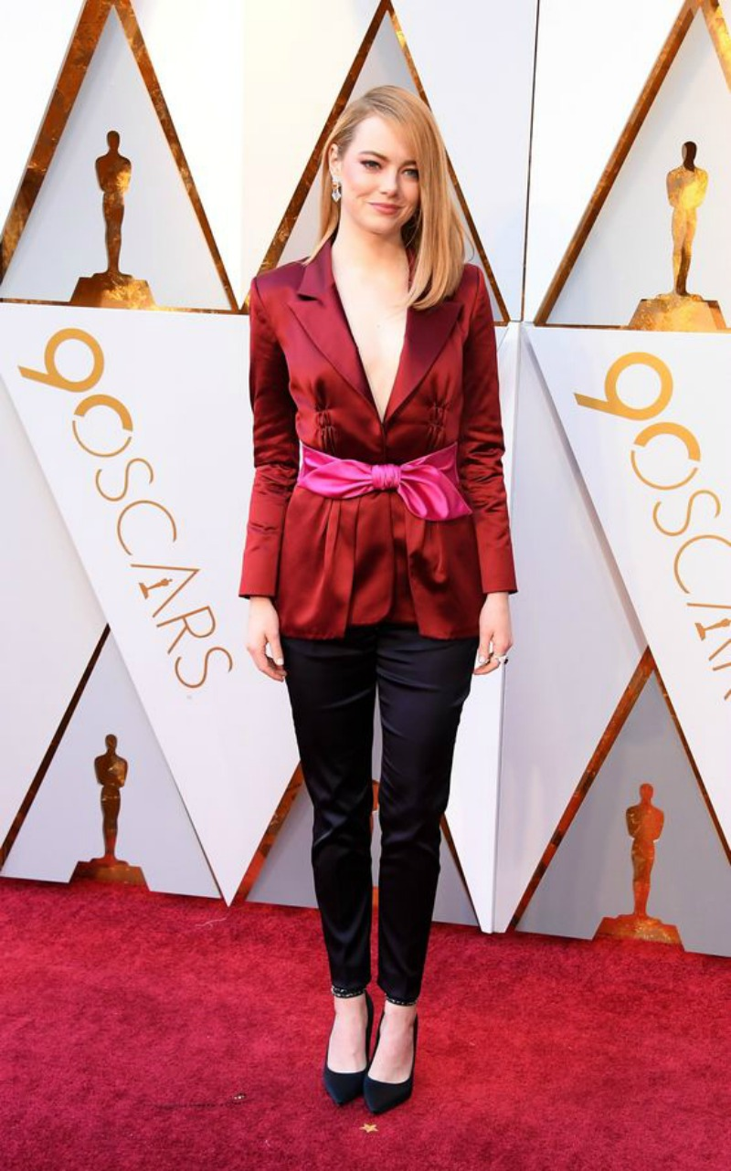 The best looks from the Oscars 2018 Emma Stone