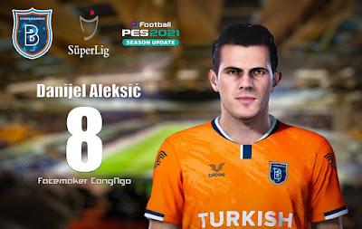 PES 2021 Faces Danijel Aleksić by CongNgo