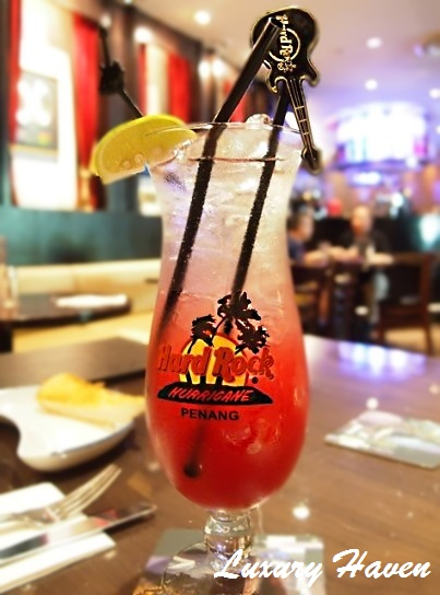 hard rock cafe penang double berry cooler