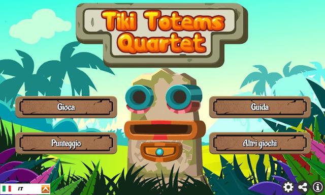 Tiki Totems Quartet, giochi online