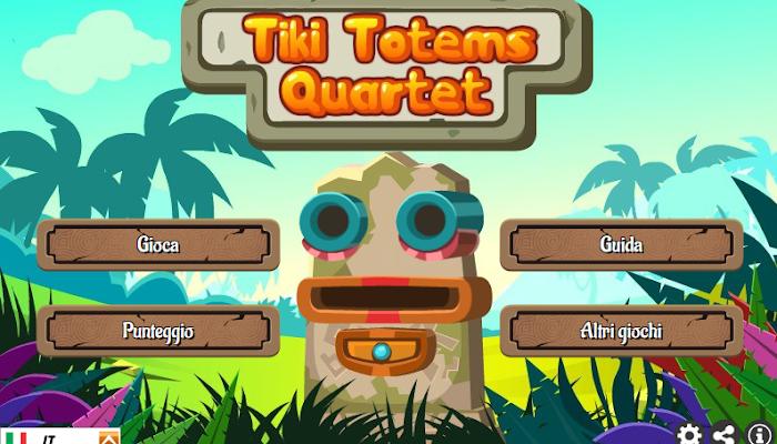 Gioca a Tiki Totems Quartet
