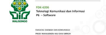 Pengertian dan Klasifikasi Software