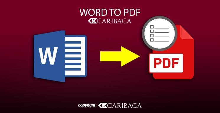 Cara Merubah File Word ke Pdf Termudah