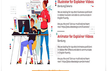 Lowongan Kerja Illustrator & Animator
