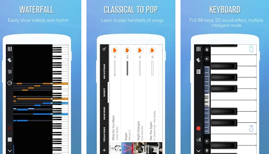 تحميل أفضل تطبيق بيانو للاندرويد مجاناً piano
